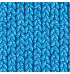Knit sewater fabric seamless pattern texture vector image