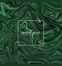 abstract green marble artwork deign cover vector image