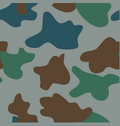 Camouflage pattern background seamless classic vector