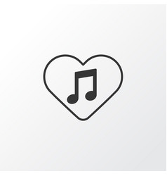 favorite tune icon symbol premium quality vector image