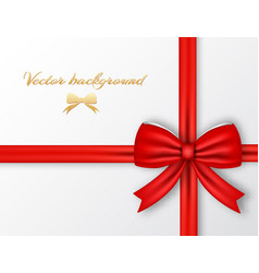 festive present template vector image