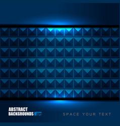 geometric blue backgrounds design vector image