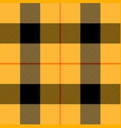 halloween tartan plaid scottish cage background vector image