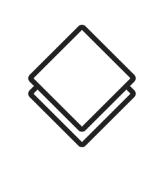 Kitchen Napkin vector image