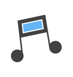 Music note i vector