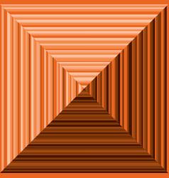 Orange pyramid background vector