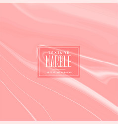 Pastel red marble texture background vector