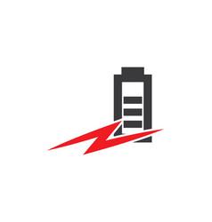 power battery logo vector image
