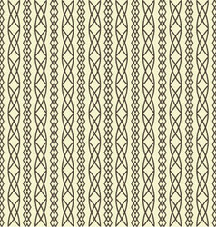 Seamless geometric pattern weave braids vector