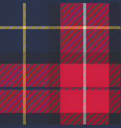 seamless pattern check plaid fabric texture vector image
