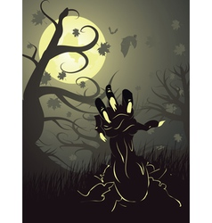 Zombie Hand3 vector image