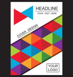 322triangle cover vector image