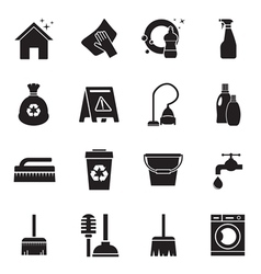 cleaning1 vector image