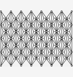 Geometric ornament with gray background vector