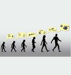 history sapiens vector image
