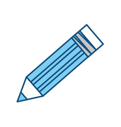 Isolated cute pencil vector