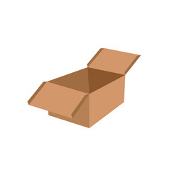 packaging box icon design template isolated vector image
