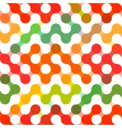 Geometric pattern of circles Colored vector