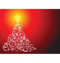 glittering lights vector image