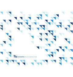 simple blue geometric of pattern background of vector image