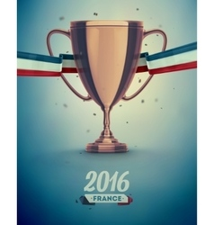 Soccer Cup vector image