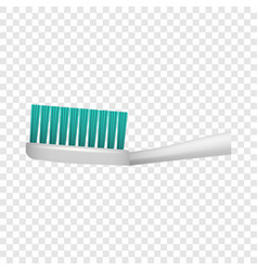 Toothbrush icon realistic style vector