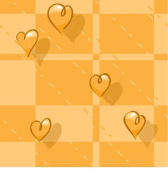 seamless checkered background vector image