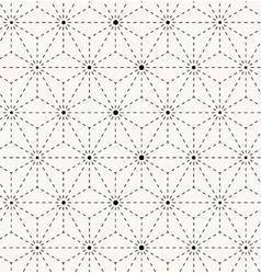 Seamless trendy geometrical pattern vector image