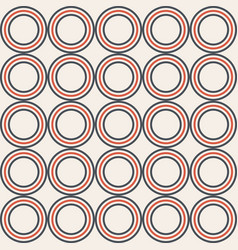 Abstract seamless pattern made of symmetric color vector