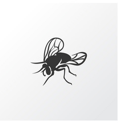 fly icon symbol premium quality isolated housefly vector image