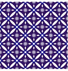 indigo batik pattern vector image