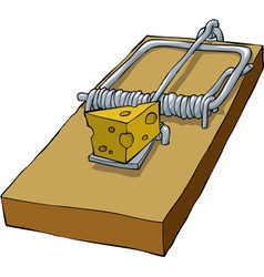mousetrap vector image