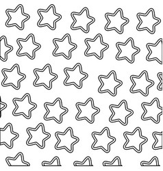 stars icons background vector image