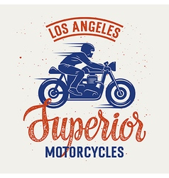 Superior motorcycle 005 vector image