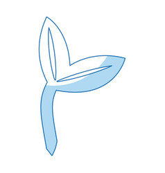 ecology plant natural environmental symbol vector image