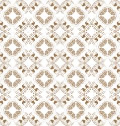 Circular pattern abstract vector image vector image