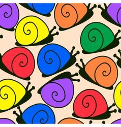 snailpat2 vector image vector image