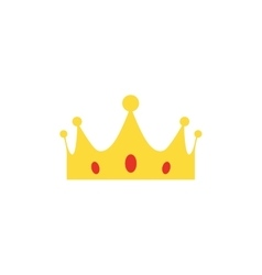 abstract cute crown vector image