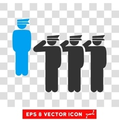 Army Squad Eps Icon vector