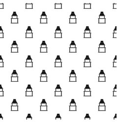 Bbq grill pattern vector