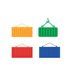 container icon design template isolated vector image