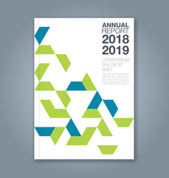 Cover annual report 1190 vector