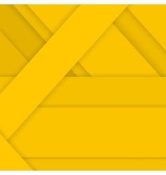Yellow Background in Material Design Style vector image