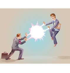 Confrontation vector image vector image