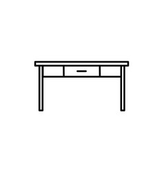 table icon vector image