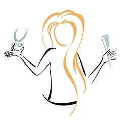 Barber symbol vector image