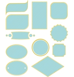 Frame and label set for frames vector
