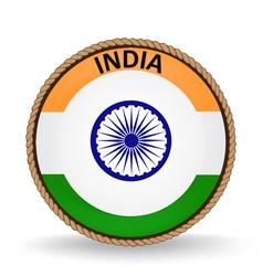 India seal vector