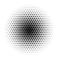 monochrome halftone background vector image