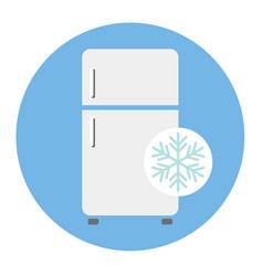 refrigerator 02 vector image